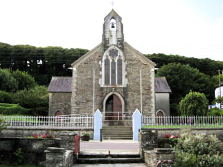 the Sacred Heart Church at Courtmacsherry